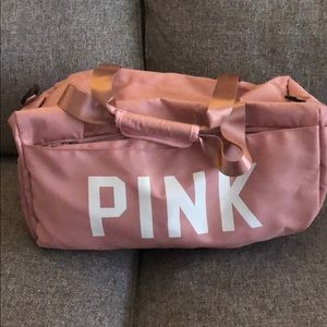 Victoria secret pink duffel bag